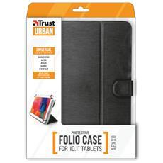 """Aexxo custodia Folio intelligente universale per tablet da 10.1"""" colore Nero"""