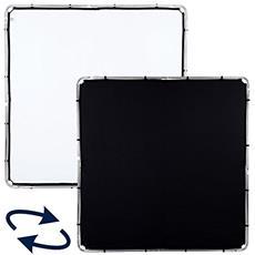 Tessuto per skylite 2mX2m nero e bianco