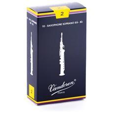 Traditionnelles Ance per Sassofono Confezione Pz 10 Soprano N. 2