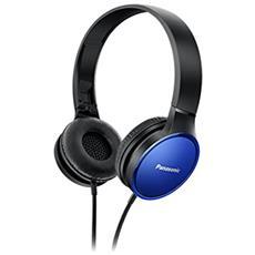 Cuffia con Microfono Cabllato RP-HF300E-A Colore Nero Blu