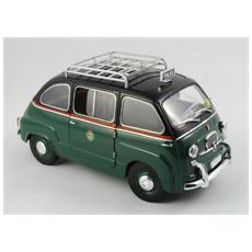 T74302 Fiat 600 Multipla Taxi Milano 1/18 Modellino