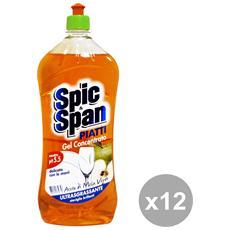 Set 12 Piatti 1 Lt. Aceto Detergenti Casa