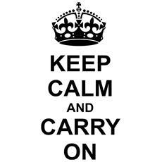 Sticker Adesivo 3d - Keep Calm