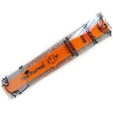 clap bracciale silicone '' arancione (stesso motivo) - [ m1471]