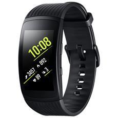 Smartwatch Gear Fit 2 Pro Impermeabile 5ATM con GPS Integrato e Monitoraggio Battito Cardiaco Taglia L Colore Nero - Italia