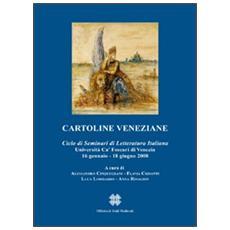 Cartoline veneziane. Ciclo di seminari di letteratura italiana