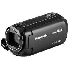 "HC-V380EG-K Nero Sensore MOS BSI Full HD Zoom Ottico 50x Display 3"" Stabilizzatore Wi-Fi"
