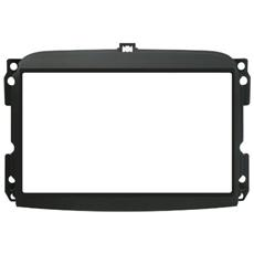 Adattatore autoradio 03647 Kit fissaggio 2 DIN nero FIAT 500L