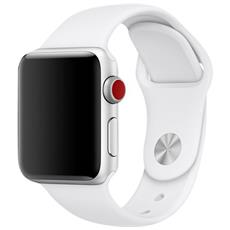 42MM SOFT WHITE SPORT BAND
