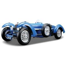 Gold Bugatti Type 59 Scala 1:18 Blu