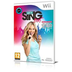 WII - Let's Sing 2016 + 1 Microfono