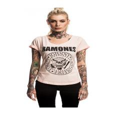 Ramones (The) - Seal (Cool White) (T-Shirt Donna Tg. S)