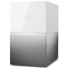 NAS My Cloud Home Duo 8 TB (2 Dischi da 4 TB Installati) 2 x USB 3.0 / 1 x Gigabit Ethernet RAID1