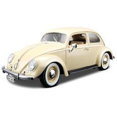 DieCast 1:18 Auto Volkswagen Maggiolone Kafer Beetle Verde 1955 12029