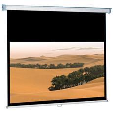 """Schermo di proiezione ITB CINEROLL AMLI142384 - Manuale - 16:9 - Montaggio a muro, Montaggio a soffitto - 133 cm (52,4"""") x 180 cm (70,9"""") - Matte Bianco"""