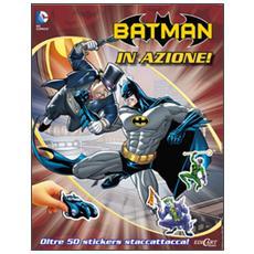 Batman in azione! Con adesivi