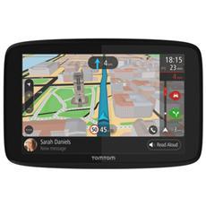 """Navigatore GPS GO 620 Display 6"""" Memoria 16 GB Tutta Europa con aggiornamento gratuito a vita GPS Bluetooth e WiFi Nero e Grigio"""