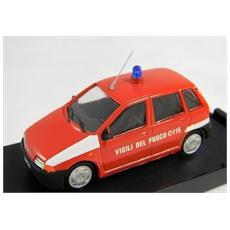 P06 Fiat Punto Vigili Del Fuoco Modellino
