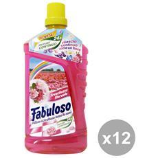 Set 12 Pavimenti Floreale 1 Lt. Detergenti Casa