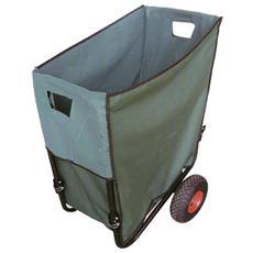 Carrello Garden Ruote Pneumatiche Portata 30kg Struttura Ferro 902/2
