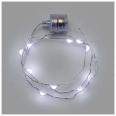 1 Collana Brilly Bianco Ghiaccio Con 10 Microled Natale Eventi Discoteca