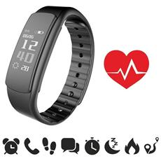 Fitness Watch I7hr - Fitness Tracker Con Cardiofrequenzimetro Impermeabile Ip67 | Contapassi | Monitoraggio Del Sonno | Notifiche Chiamate E Sms / whatsapp / facebook