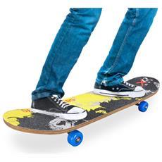 Skateboard Di Legno (4 Ruote)
