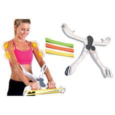 Wonder Arms Allenamento Bicipiti Tonifica Corpo Tricipiti Avambraccio Spalle Schiena Pieghevole Portatile Fitness Palestra