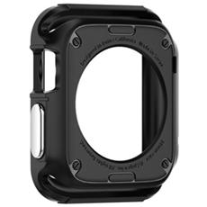 Custodia in TPU per Apple Watch da 42mm - Grigio + 2 Pellicole protettive