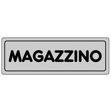 Cartelli segnaletici adesivi Pubblicentro - magazzino - 15905700ADB0150X0050