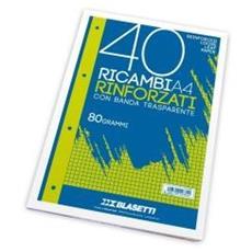 Ricambi A4 Quadri 5mm 40ff