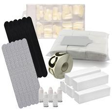 Kit attrezzatura ricostruzione unghie e refil