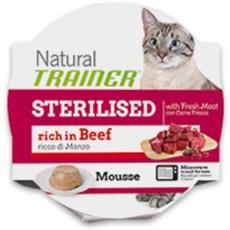 Cibo per gatti Adult Mousse Sterilised con Manzo 85 gr