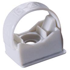 Collare Di Fissaggio In Tecnopolimero Non Riapribile Per Tubi Diametro 16 32mm Halogen Free Grigio Ral7035