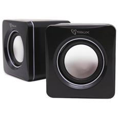 ICSB-SP02 - Speakers USB SP-02 Nero