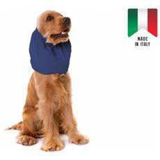 Paraorecchie Camon Per Cani Specifico Per Cani Ad Orecchie Lunghe Colore Blu