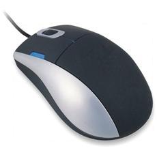 Desktop Silk Mouse, USB, Ottico, 800 DPI, 350g, Windows Me / 2000 / XP / VISTA, Mac OS X 10.2, 32 x 350 x 20 mm