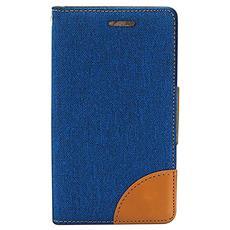 """681310 4"""" Custodia a libro Blu custodia per cellulare"""