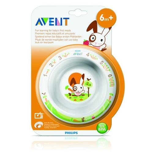 PHILIPS AVENT Toddler bowl small 6m+ SCF706/00 White