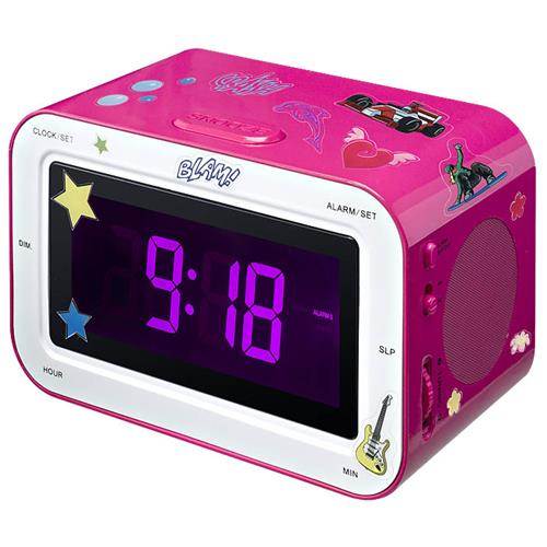 BIGBEN Interactive RR30, Orologio, Analogico, AM, FM, LCD, 9V
