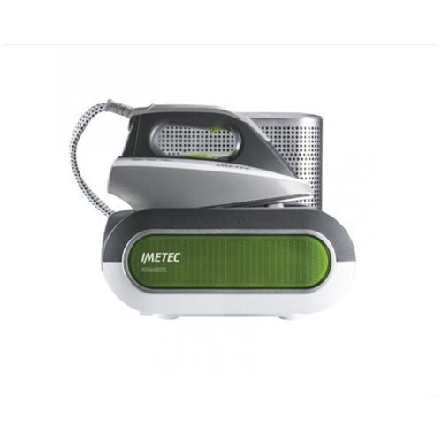 IMETEC INTELLIVAPOR Professional Ferro da Stiro con Caldaia Potenza 1800 Watt Colore Grigio / Verde