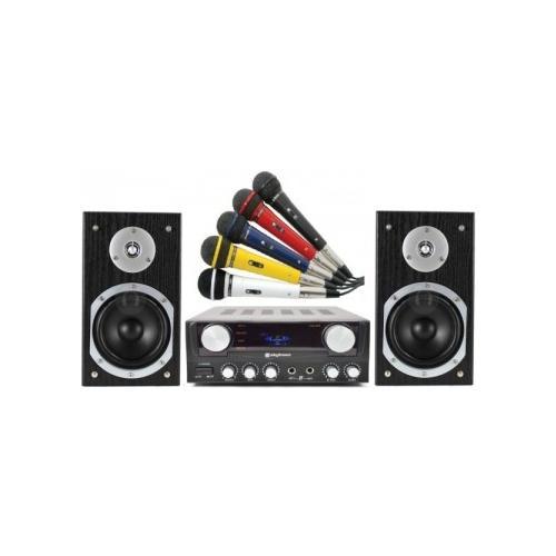 Skytec Sistema Amplificato Karaoke, Sottofondi X Locali Art 1003175mic103202
