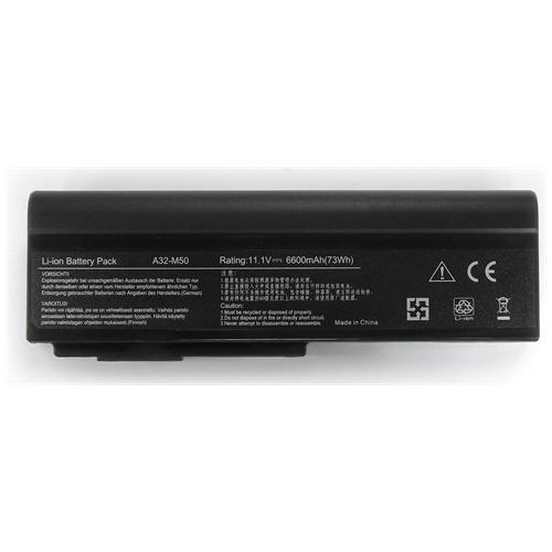 LI-TECH Batteria Notebook Compatibile 9 Celle Per Asus G51jx-sz360v Computer Portatile Pila