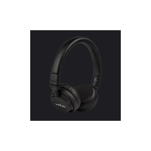 VEHO ZB-5 Padiglione auricolare Stereofonico Cablato / Bluetooth Nero auricolare per telefono cellulare