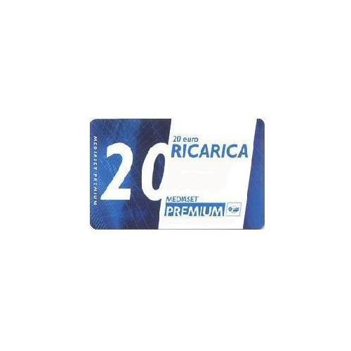 MEDIASET PREMIUM Ricarica Mediaset Premium da 20 €