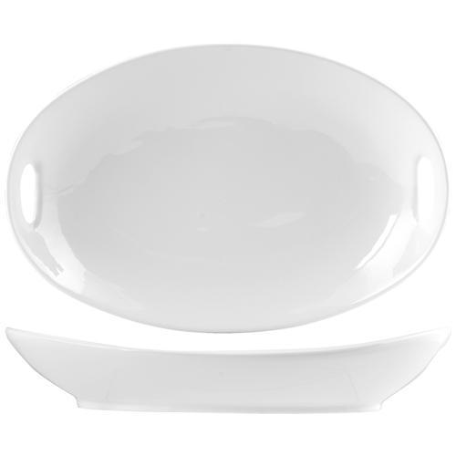 Hotelware Pirofila Porcellana Ovale Con Manico 30 Strumenti Da Cucina