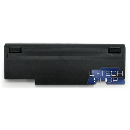 LI-TECH Batteria Notebook compatibile 9 celle per ASUS F3SE-AP028C nero 73Wh