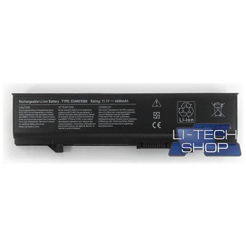 LI-TECH Batteria Notebook compatibile per DELL PW649 4400mAh nero pila 48Wh 4.4Ah