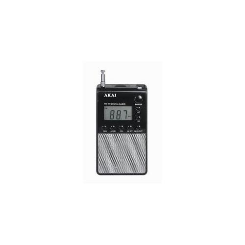 AKAI Personal Pocket Radio, Personale, Analogico, AM, FM, LCD, Verde, 83g