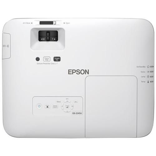 EPSON Proiettore EB-2245U LCD WUXGA 4200 Lumen Rapporto di Contrasto 15000 : 1 USB / VGA / HDMI / RS-23